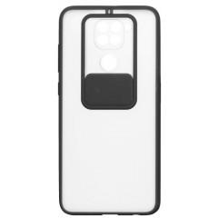 Чехол Totu Curtain Xiaomi Redmi Note 9 (черный)