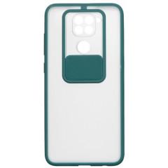 Чехол Totu Curtain Xiaomi Redmi Note 9 (зеленый)