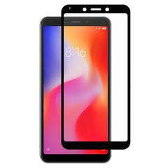Защитное стекло Xiaomi Redmi 6/6a (3D Black) 0.33mm