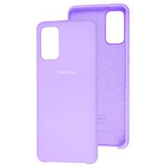 Чехол Silky Samsung Galaxy A71 (лавандовый)