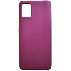 Чехол Silicone Case Lite Samsung Galaxy A51 (фиолетовый)