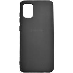 Чехол Silicone Case Samsung Galaxy A31 (черный)