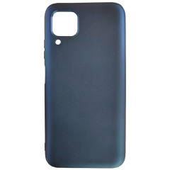 Чехол Silicone Case Lite для Huawei P40 Lite (темно-синий)