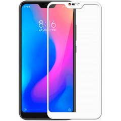 Стекло Xiaomi Mi A2/6x (5D White) 0.33mm