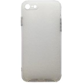 Чехол усиленный матовый iPhone 7/8 (белый)