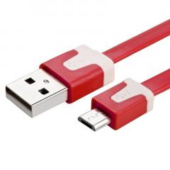Кабель X38 Micro USB (красный) 2м