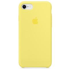 Чехол Silicone Case iPhone 7/8/SE 2020 (желтый)