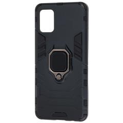 Чехол Armor + подставка Samsung Galaxy A51 (черный)
