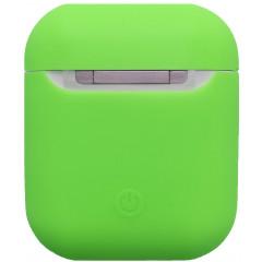Чехол для Airpods силиконовый (зеленый)
