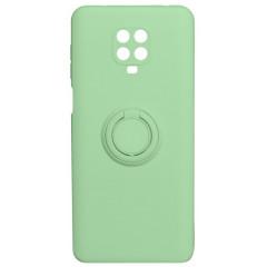 Чехол Ring Color Xiaomi Redmi Note 9s/9 Pro (зеленый)