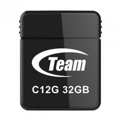 Флешка USB Team C12G 32GB USB 2.0 (Black)