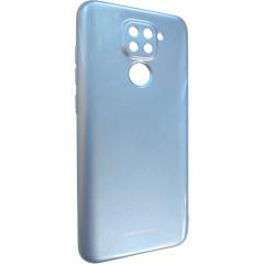 Чехол Molan Xiaomi Redmi Note 9 (голубой)