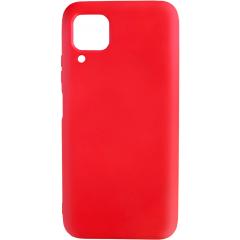 Чехол Silicone Case Lite для Huawei P40 Lite (красный)