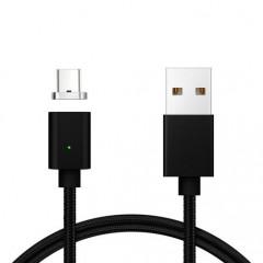 Магнитный кабель Clip-On for Type-C (черный) USB 2.0