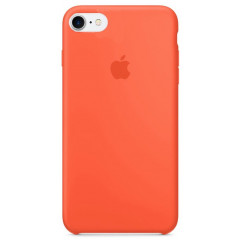 Чехол Silicone Case iPhone 7/8/SE 2020 (оранжевый)