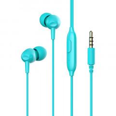 Вакуумные наушники-гарнитура Havit HV-E48P (Blue)