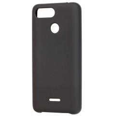 Чехол Soft Touch Xiaomi Redmi 6 (черный)