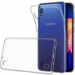 Чехол SMTT Samsung Galaxy A01 (прозрачный)