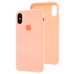 Чехол Silicone Case iPhone Xs Max (персиковый)