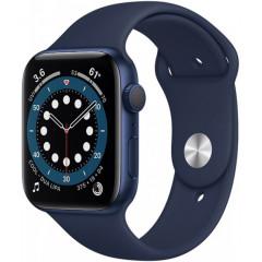 Apple Watch Series 6 40mm Blue Aluminium Case with Deep Navy Sport Band (MG143UL/A)