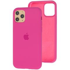 Чехол Silicone Case Iphone 11 Pro Max (ярко-розовый)