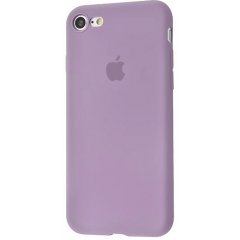 Чехол Silicone Case iPhone 7/8/SE 2020 (лавандовый)