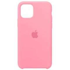 Чехол Silicone Case Iphone 11 Pro Max (розовый)