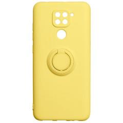 Чехол Ring Color Xiaomi Redmi Note 9 (желтый)