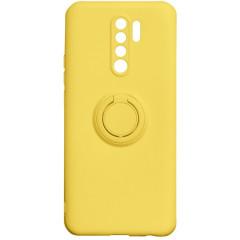 Чехол Ring Color Xiaomi Redmi 9 (желтый)