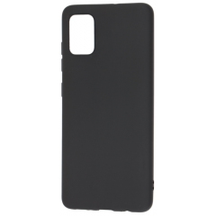 Чехол Silicone Case Lite Samsung Galaxy A51 (черный)