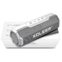 Bluetooth колонка Koleer S218 (Silver)