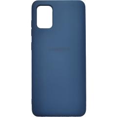 Чехол Silicone Case Samsung Galaxy A31 (синий)