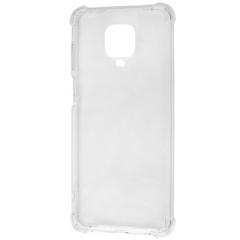 Чехол усиленный для Xiaomi Redmi Note 9s / Note 9 Pro (прозрачный)