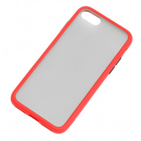 Чехол LikGus Maxshield матовый iPhone 7/8 (красный)
