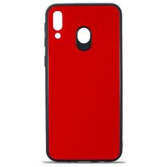 Чехол Glass Case Samsung M20-2019 (красный)