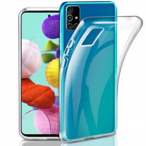 Чехол SMTT Samsung Galaxy A31 (прозрачный)