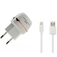 Сетевое зарядное устройство Konfulon C31 + S05 (Iphone Cable)