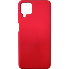 Чехол Silicone Case Samsung A12 (красный)