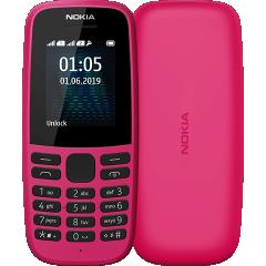 Nokia 105 Dual Sim 2019 (Pink) TA-1174