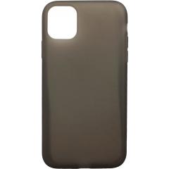 Чехол силиконовый Latex матовый iPhone 11 Pro Max (черный)