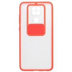 Чехол Totu Curtain Xiaomi Redmi Note 9 (красный)