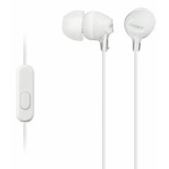 Вакуумные наушники-гарнитура Sony EX-15AP Original (White)