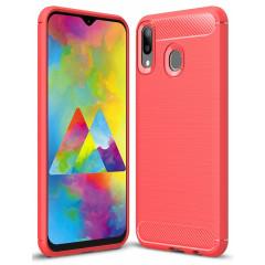 Чехол Carbon Samsung Galaxy M20 (красный)