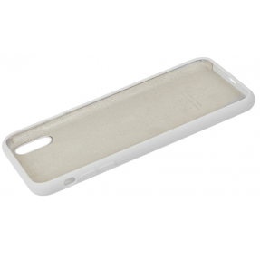 Чехол Silicone Case iPhone Xs Max (белый)