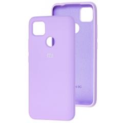 Чехол Silicone Case Xiaomi Redmi 9C (лавандовый)