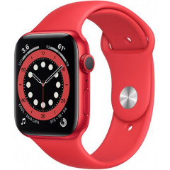 Apple Watch Series 6 40mm (PRODUCT) Red Aluminium Case with Red Sport Band (M00A3UL/A)