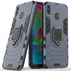 Чехол Armor + подставка Samsung Galaxy M20 (серый)