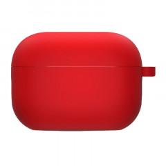 Чехол для AirPods Pro с микрофиброй (красный)
