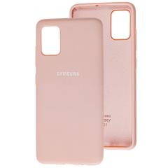 Чехол Silicone Case Samsung Galaxy A51 (персик)