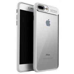 Чехол-накладка Auto Focus iPhone 7 (белый)